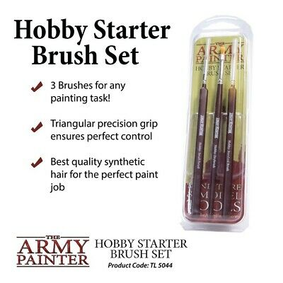 The Army Painter Brushes Hobby Starter Brush Set (TL5044)