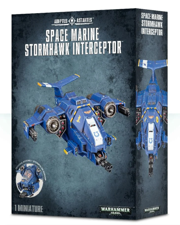 Space Marine Stormhawk Interceptor / Stormtalon Gunship