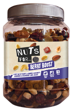 Load image into Gallery viewer, Nuts for Berry Boost,  a fruity mix of peanuts, almonds, hazelnuts, blueberries and strawberry juice jellies.