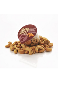 Black Pepper Jumbo Flavoured Cashews, in a snack pot