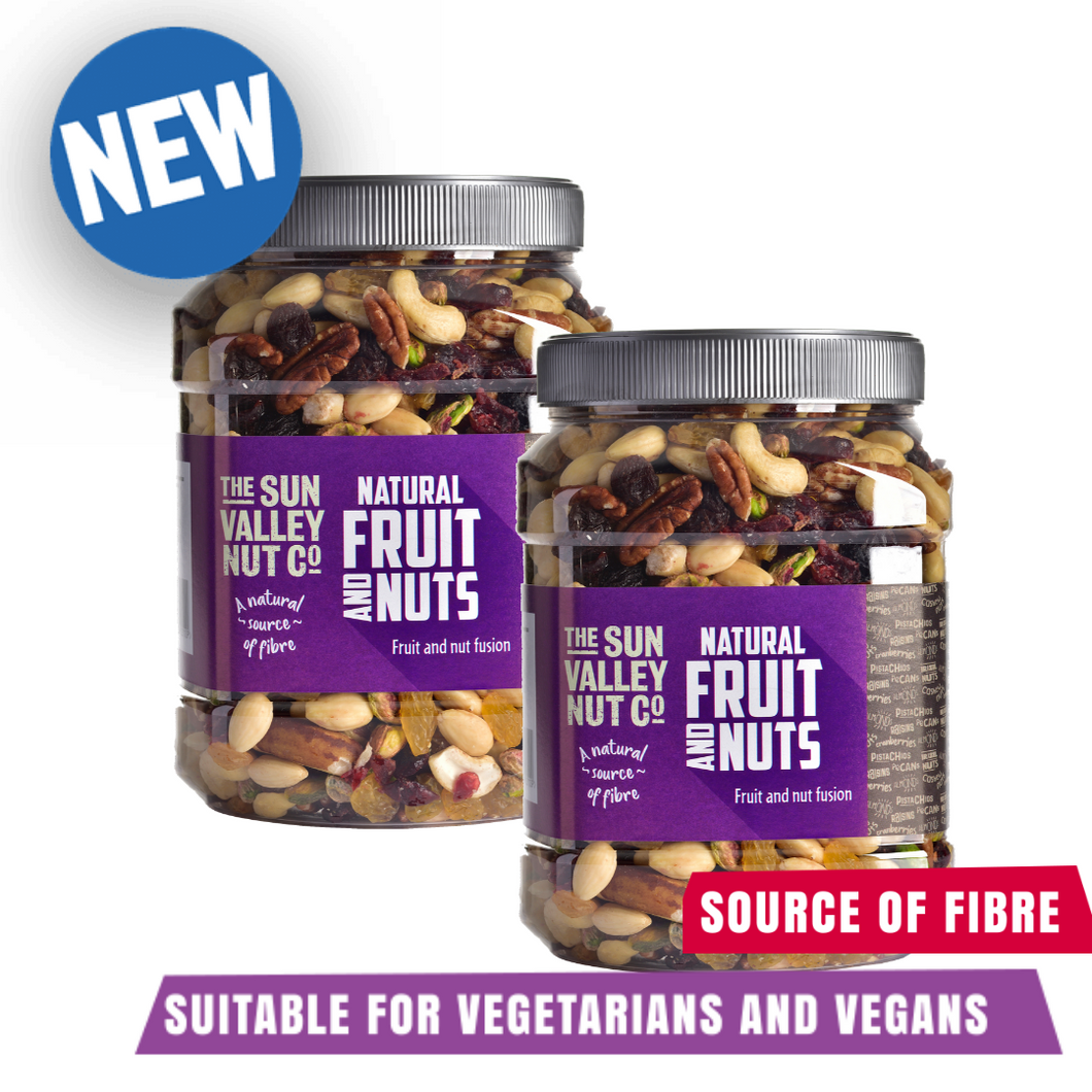 2  x Sun Valley Natural Fruit & Nuts 1.1kg  -  BUY 1 GET 1 HALF PRICE