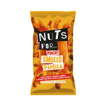 Load image into Gallery viewer, Nuts For Punchy Smoked Paprika a mix of peanuts, cashews, almonds and crunchy corn with a kick of smoked paprika