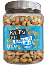 Load image into Gallery viewer, Nuts For Roasted and Salted Cashews