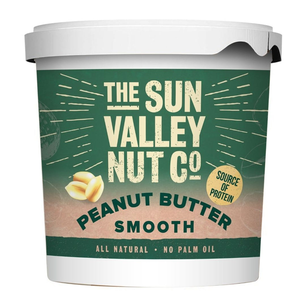 Sun Valley Natural 1kg Smooth Peanut Butter