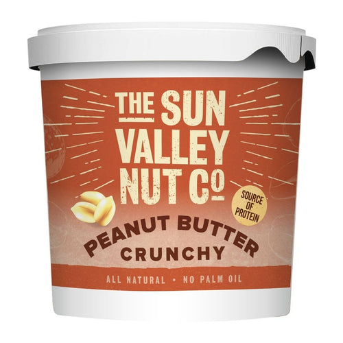 Sun Valley Natural 1kg Crunchy Peanut Butter