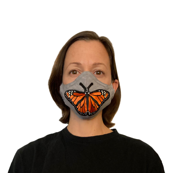 Embellished Butterfly Mask