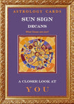 Astrology Cards: Sun Sign Decans Deck