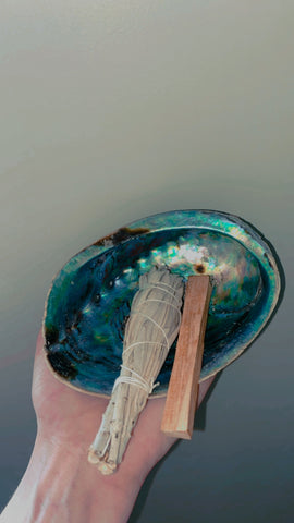 Abalone Smudge Bundle
