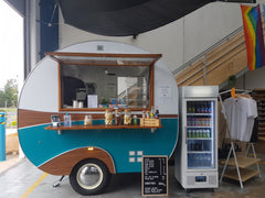 Best Beginner-friendly Bouldering Gyms to go for a Date in Melbourne coffee van climb west