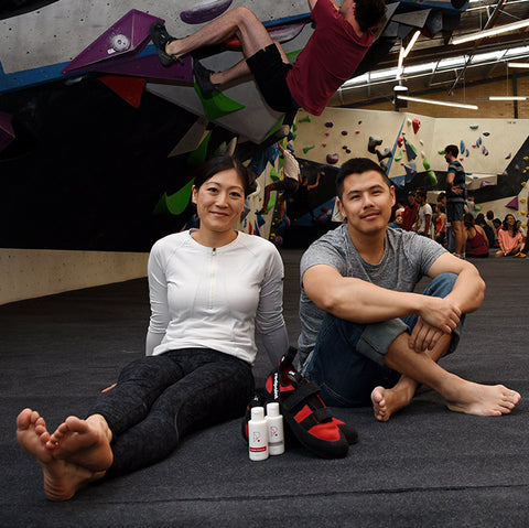Redpoint Climbing Shoes Founders Jack Tho Katie Chuang
