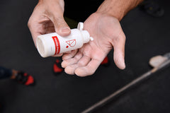 Redpoint climbing liquid chalk for climbing and bouldering friction formula