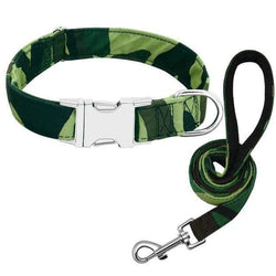 Camo | Leash & Collar