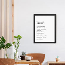 Load image into Gallery viewer, Tomato Poetry Poster - Framed Good Grub Love