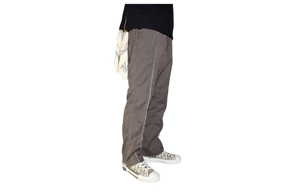 SCAR STITCH WOOL TROUSER