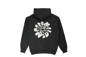Muted Tension Organic Logo Hooded Sweatshirt Back