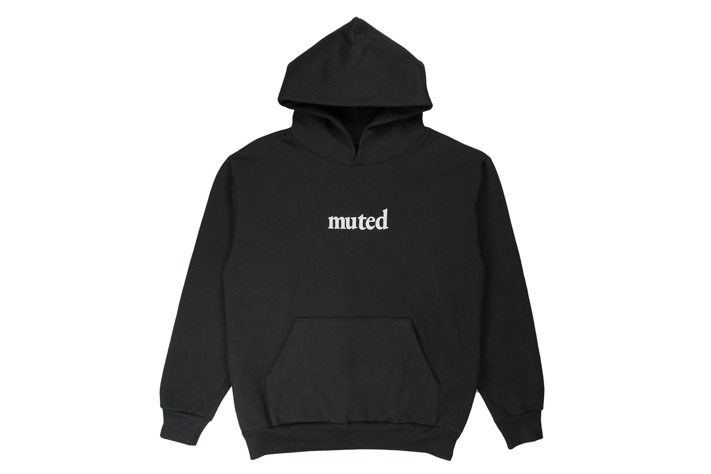 Muted Tension Organic Logo Hooded Sweatshirt