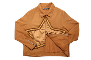 Muted Tension Star Jacket Sugar Almond