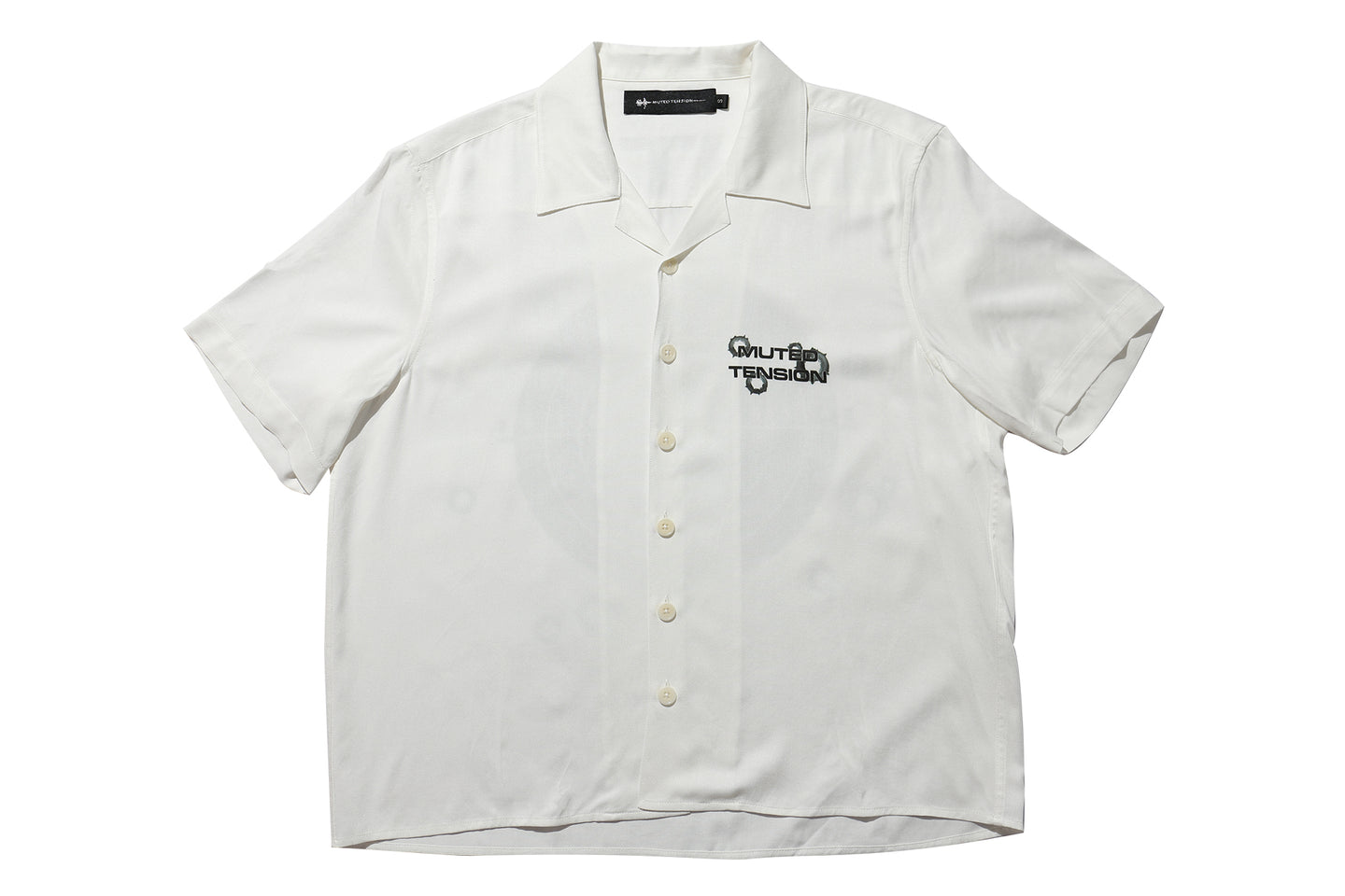 Muted Tension Target Practice Short Sleeve Camp Shirt
