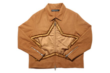 Load image into Gallery viewer, Muted Tension Wool Star Jacket (Sugar Almond)