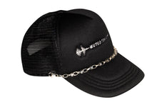 Load image into Gallery viewer, Muted Tension Logo Chain Trucker Cap