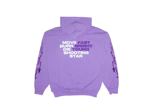 Muted Tension Shooting Stars Hoodie (Lavender)