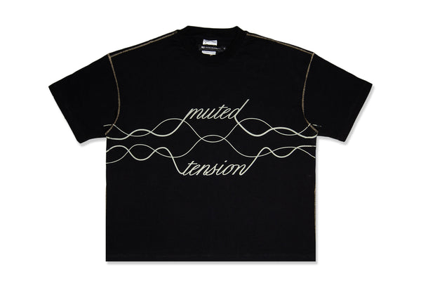Sound Wave T-Shirt (Black)