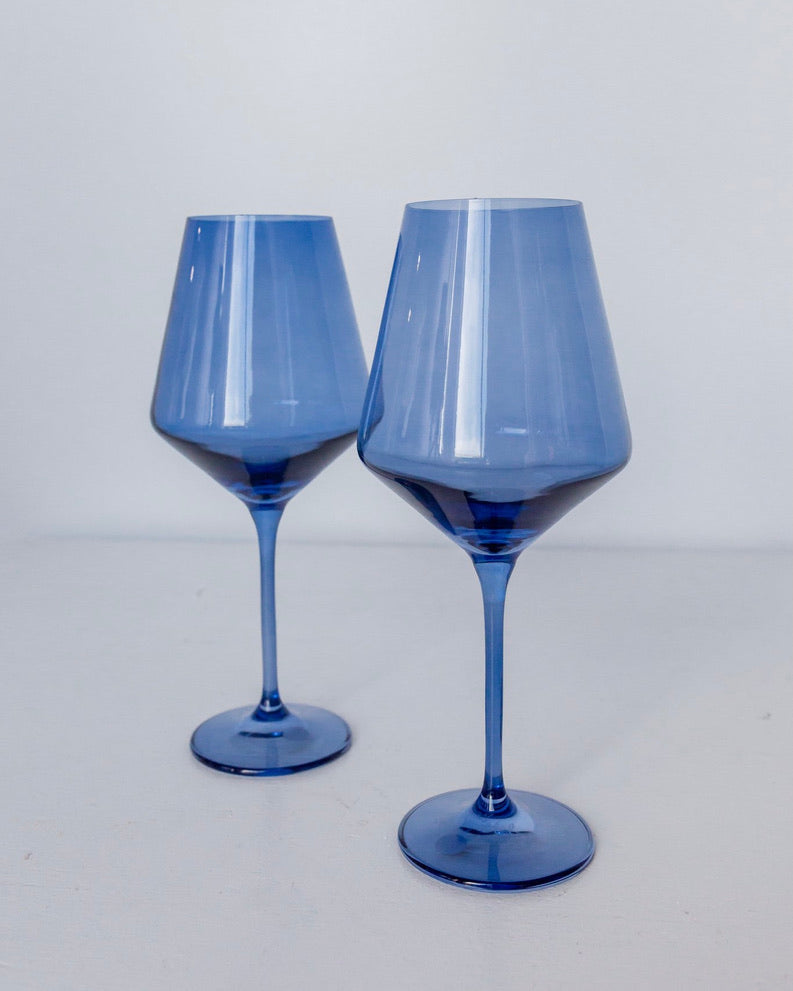 Stemware, Cobalt - The Feedfeed Shop