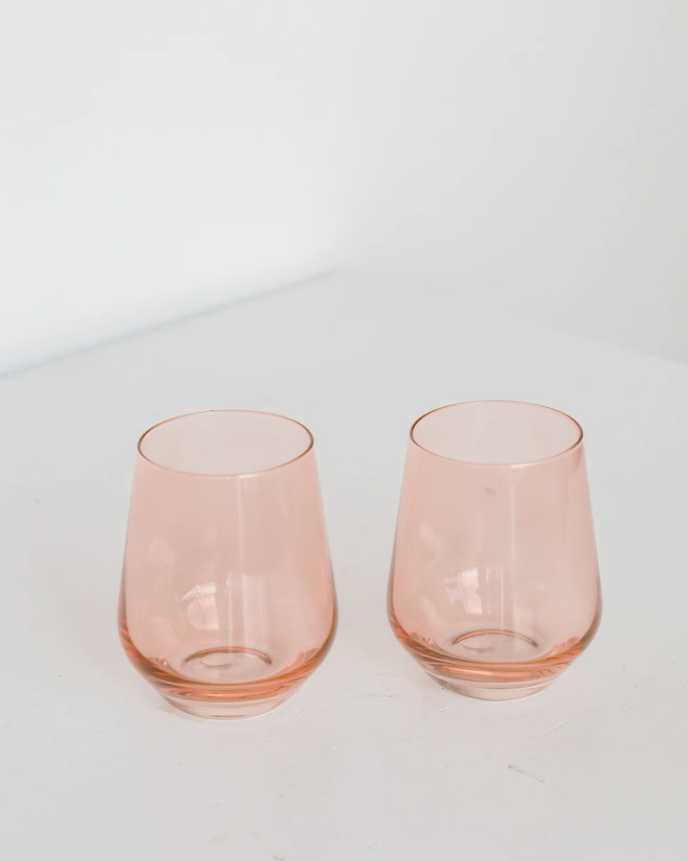 Stemless, Coral - The Feedfeed Shop