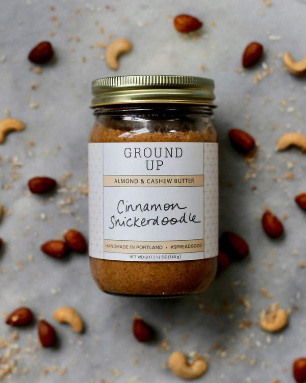Cinnamon Snickerdoodle Almond + Cashew Nut Butter - The Feedfeed Shop