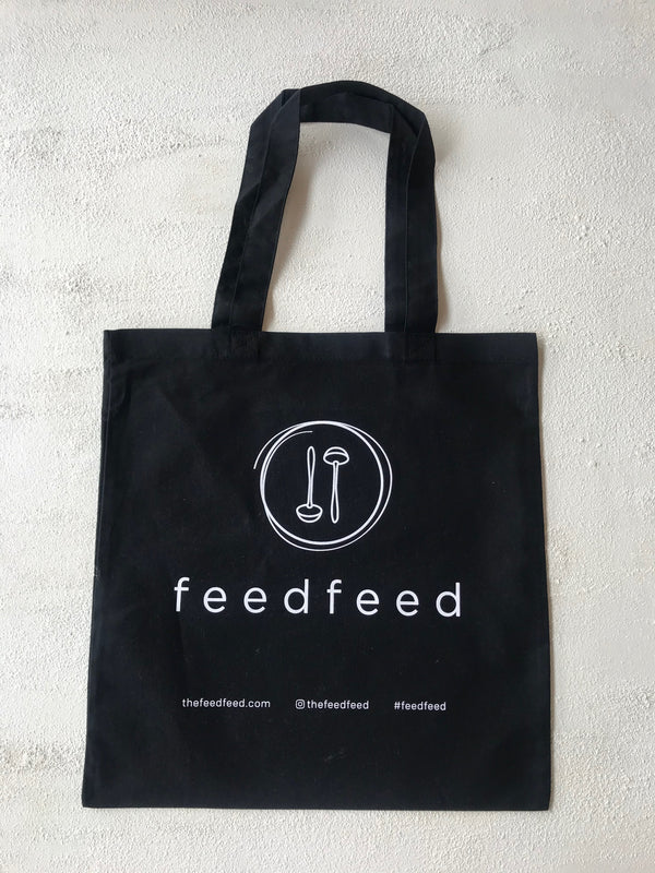 Tote Bag // Black - The Feedfeed Shop