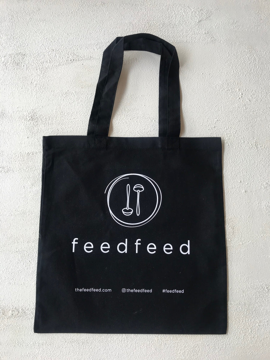 The Feedfeed Tote Bag // Black - The Feedfeed Shop