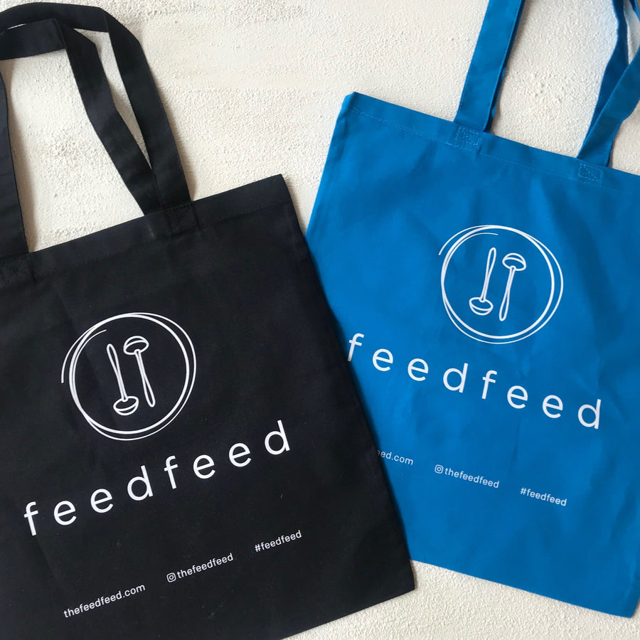 The Feedfeed Tote Bag //  Baby Blue - The Feedfeed Shop