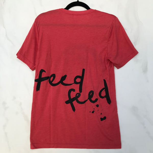 Tee // Unisex // Red - The Feedfeed Shop