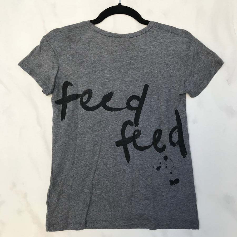 The Feedfeed Scoop Tee // Unisex // Grey - The Feedfeed Shop