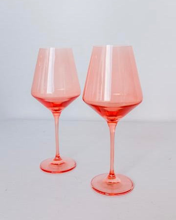 Stemware, Coral - The Feedfeed Shop