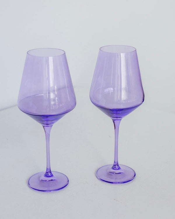 Stemware, Lavender - The Feedfeed Shop