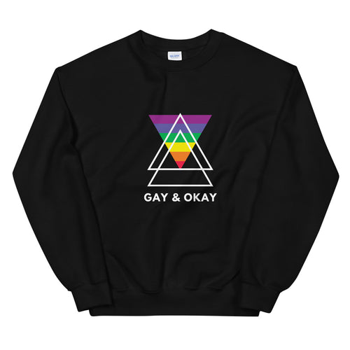 Gay & Okay - Sweatshirt LGBTIQ+