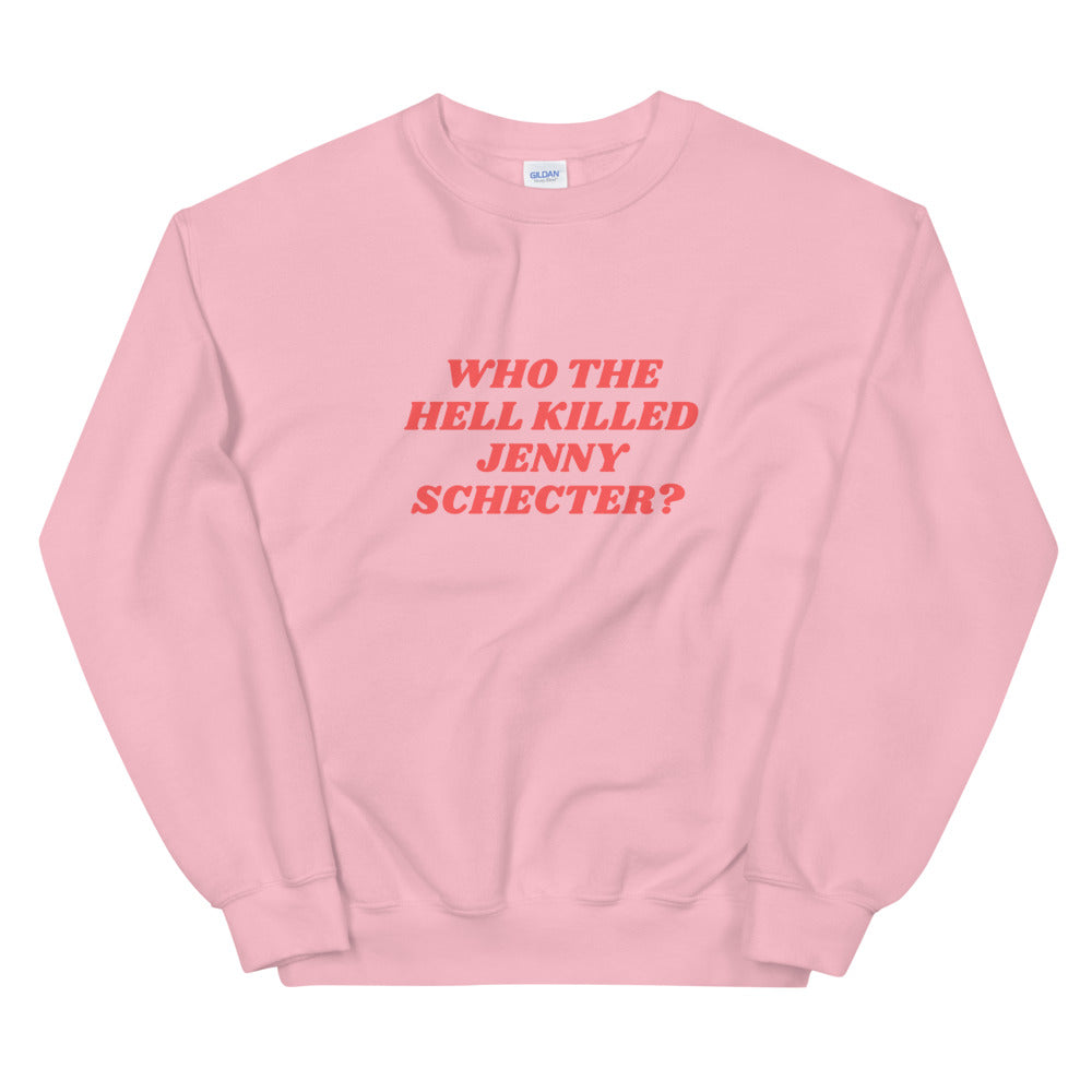 Who the hell killed Jenny Schecter? - Sweatshirt L Word LGBTIQ+