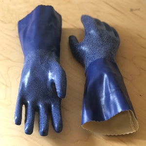 Knit-lined Biodegradable Hazard Gloves