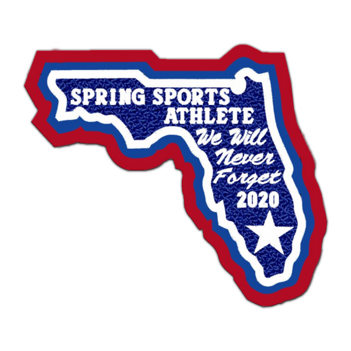 Florida Spring Sports Athlete State Patch