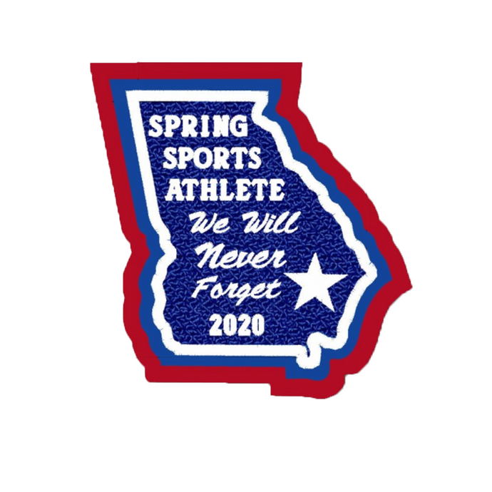 Georgia Spring Sports Athlete State Patch