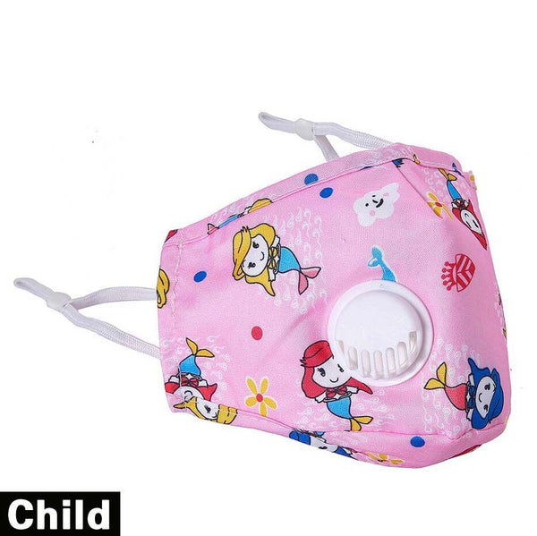 Printed Reusable Masks Children 10 pcs
