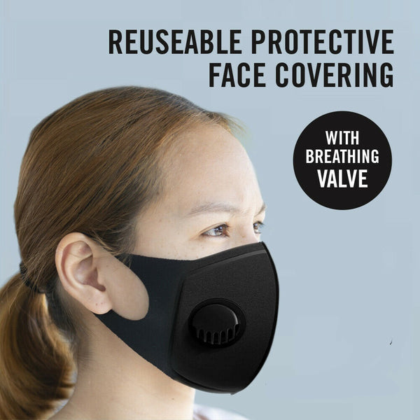 Air Purifying Face Mask Filter Respiratory Mouth Protection Masks