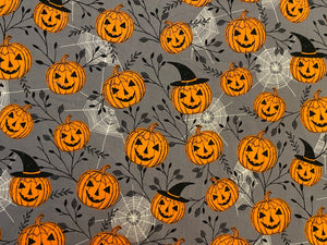 Halloween pumpkins Custom Made Cotton Cloth Mask