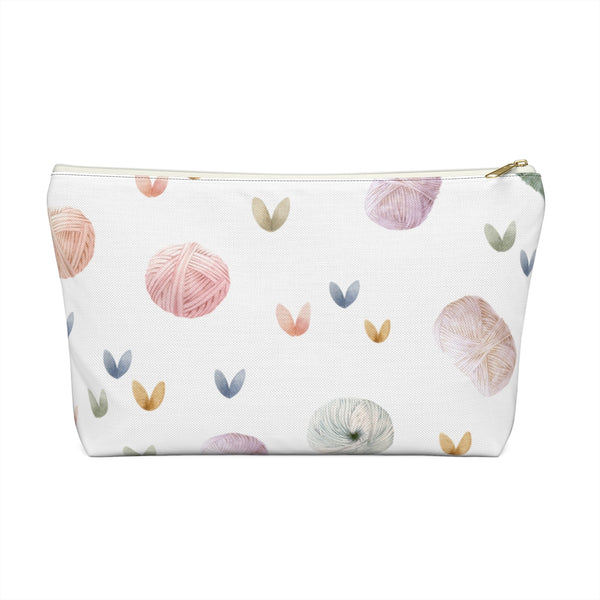 Yarn Love Accessory Pouch w T-bottom