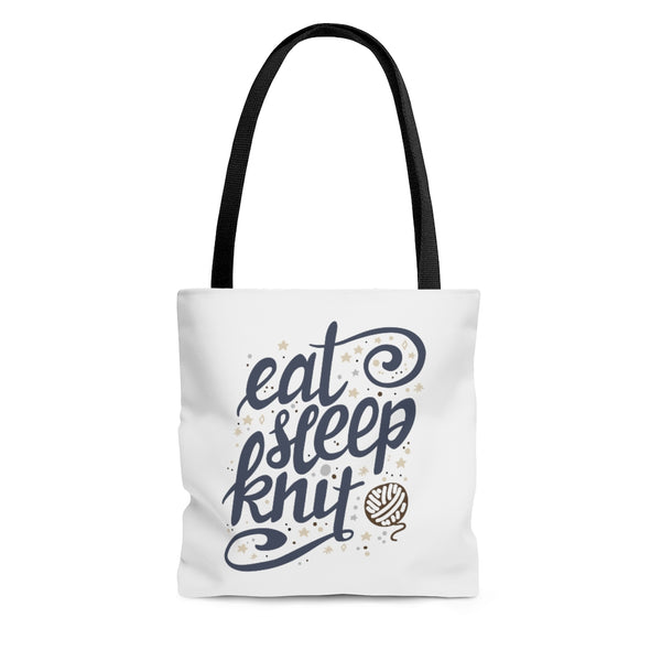 Eat, Sleep, Knit Tote Bag