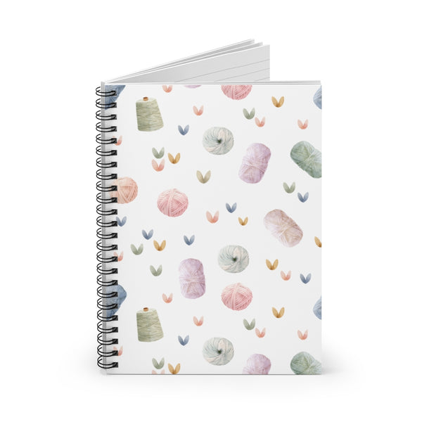 Yarn Love Spiral Notebook - Ruled Line