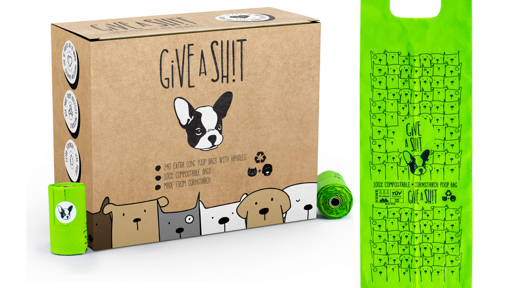 100% plastic-free and compostable dog poop bags at best price