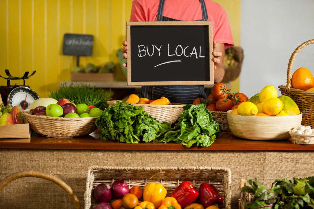 Why we should buy local food?