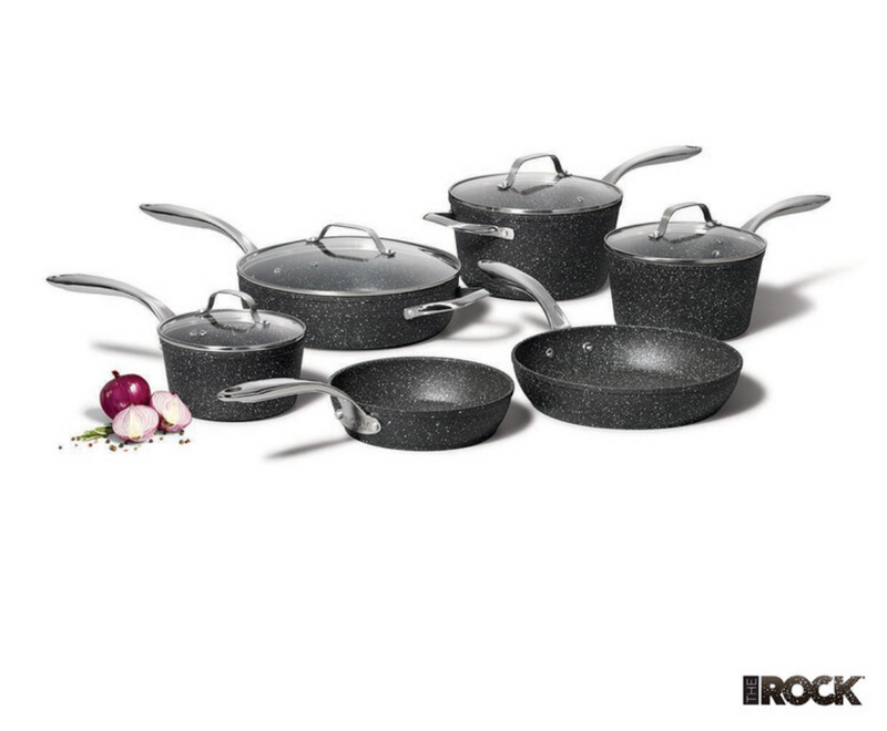 Starfrit The Rock 10 Piece Cookware Set - Home To Home Store